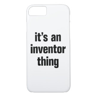 its an inventor thing iPhone 8/7 case