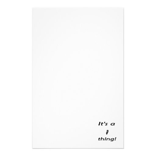 It's an J thing! Stationery