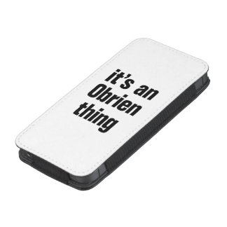 its an obrien thing iPhone 5 pouch