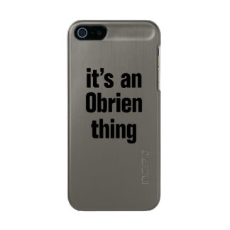its an obrien thing incipio feather® shine iPhone 5 case
