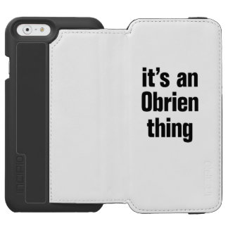 its an obrien thing incipio watson™ iPhone 6 wallet case