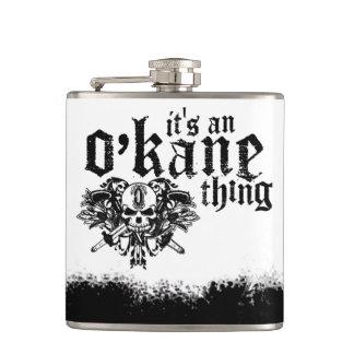 It's An O'Kane Thing Hip Flask
