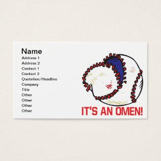 Its An Omen Business Card