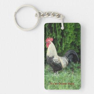 It's An Oviedo Thing Chicken Keychain