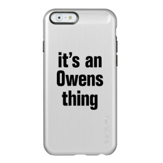its an owens thing incipio feather® shine iPhone 6 case