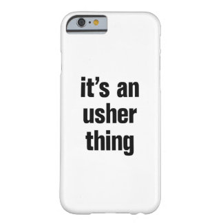 its an usher thing barely there iPhone 6 case
