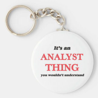 It's and Analyst thing, you wouldn't understand Keychain