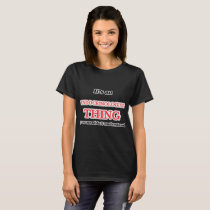 It's and Endocrinologist thing, you wouldn't under T-Shirt