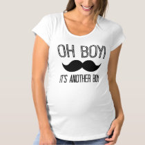 It's Another Boy Maternity Shirt