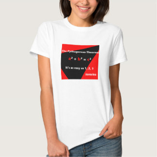 It's As Easy As 1, 2, 3 Red Women's T-shirt