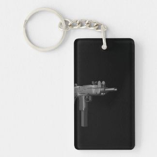 It's Automatic Double-Sided Rectangular Acrylic Keychain