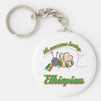 It's awesome beeing Ethiopian Keychain