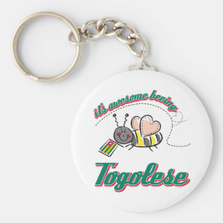 It's awesome beeing Togolese Key Chains