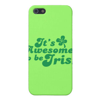 It's AWESOME to be IRISH iPhone SE/5/5s Case