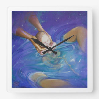 It's Baby Time, Waterbirth Wall Clock