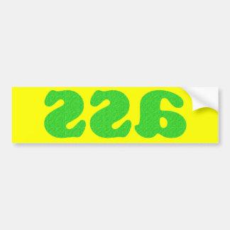 It's Backwards, On A Sticker! Car Bumper Sticker