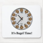 It's Bagel Time! Mouse Pad