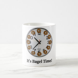 It's Bagel Time! 11 Oz Magic Heat Color-Changing Coffee Mug
