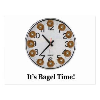 It's Bagel Time! Postcard