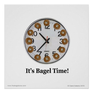 It's Bagel Time! Poster