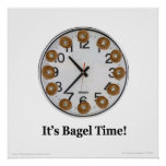 It's Bagel Time! Posters