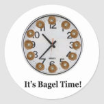 It's Bagel Time! Stickers