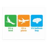 It's Balloon Boy! Post Card