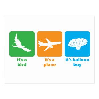 It's Balloon Boy! Postcard