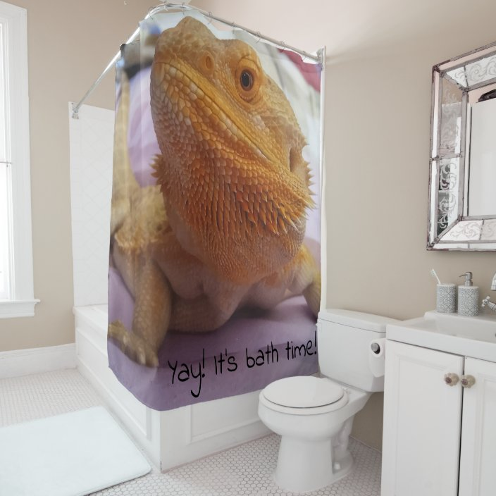 Photo Print Design Shower Curtain
