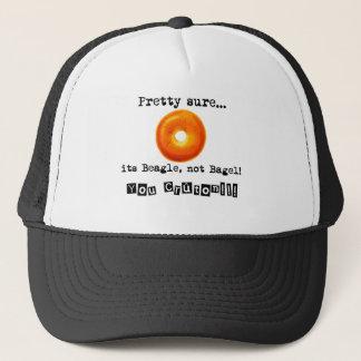 Its Beagle emergency bagel Trucker Hat