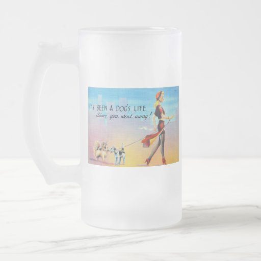 It's Been A Dog's Life Coffee Mugs