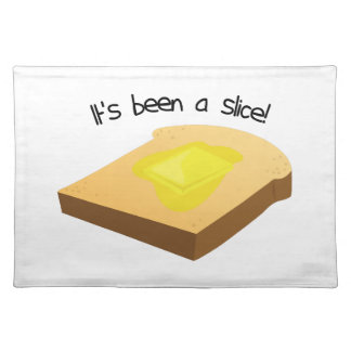 It's Been A Slice! Cloth Place Mat