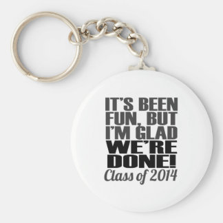 It's Been Fun, Class of 2014 Graduation Seniors Keychain