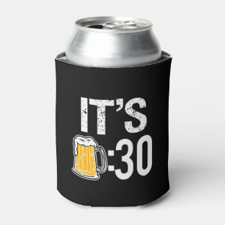 It's Beer 30 funny beer can cooler sleeve