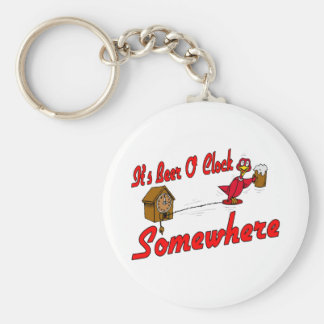 It's Beer O Clock Somewhere Keychain
