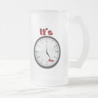 It's Beer O'Clock Coffee Mug