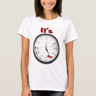 It's Beer O'Clock T-Shirt