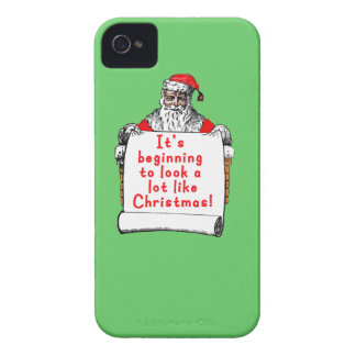 It's Beginning to Look a lot like Christmas Case-Mate iPhone 4 Cases