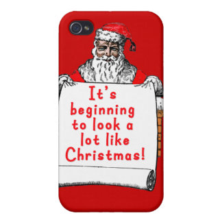 It's Beginning to Look a lot like Christmas Case For iPhone 4