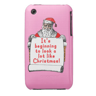 It's Beginning to Look a lot like Christmas iPhone 3 Cover