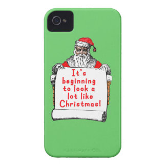 It's Beginning to Look a lot like Christmas iPhone 4 Case