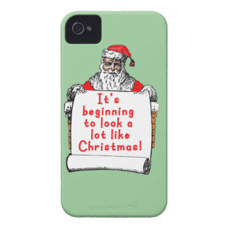 It's Beginning to Look a lot like Christmas iPhone 4 Cover