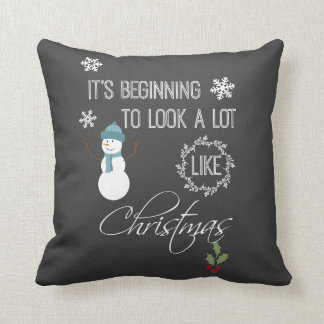 It's beginning to look a lot like Christmas Pillows