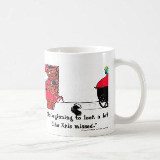 """It's beginning to look a lot like Kris-missed Coffee Mug"