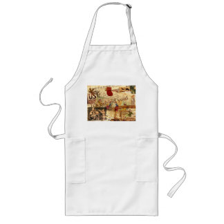 It's Behind You! Long Apron