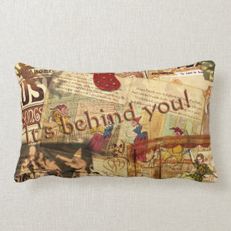It's Behind You! Throw Pillows