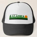 """It&#39;s Better in Alaska Trucker Hat<br><div class=""""desc"""">T-shirts,  hats,  mugs,  buttons,  gofts,  and souvenirs from Alaska!</div>"""