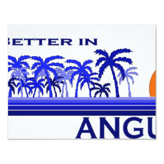 It's Better in Anguilla Card