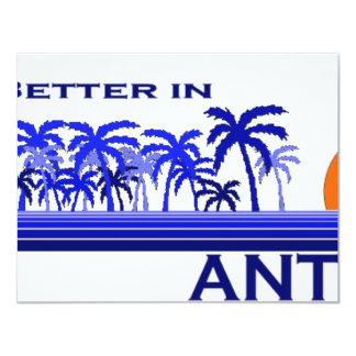 It's Better in Antigua Card
