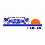 It's Better in Baja Postcard